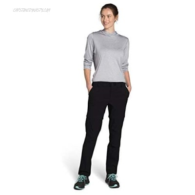 The North Face Women's Paramount Convertible Mid Rise Pant TNF Black 0 Regular
