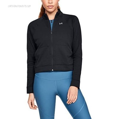 Under Armour womens Under Armour Women's Favorite Terry Full Zip Bomber