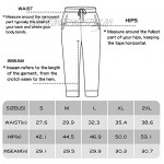 GOWISDOM Mens Sweatpants with Pockets Cotton Joggers Athletic Casual Pants with Elastic Drawstring