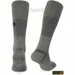281Z Military Boot Socks - Tactical Trekking Hiking. - Outdoor Athletic Sport (Foliage Green)(Large 3 Pairs Pack)