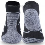 Men's Running Hiking Performance Outdoor Athletic Sport Ankle Cushion Tab Socks