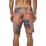 O'NEILL Men's Water Resistant Stretch Volley Swim Boardshort 19 Inch Outseam (Spice/Palmade